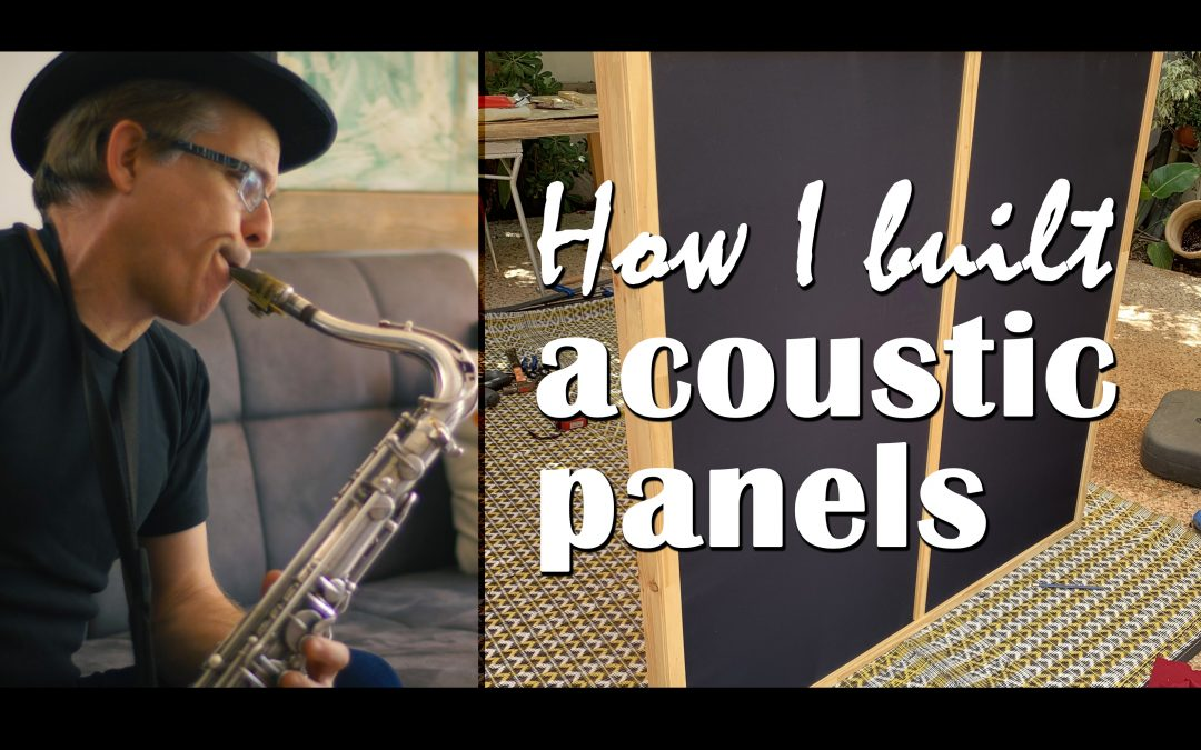 How I built an acoustic panel